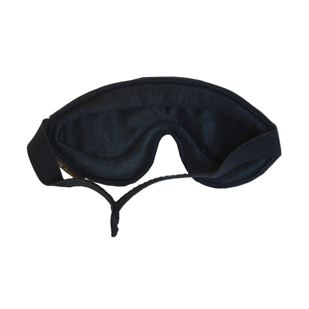 masque de sommeil noir complet